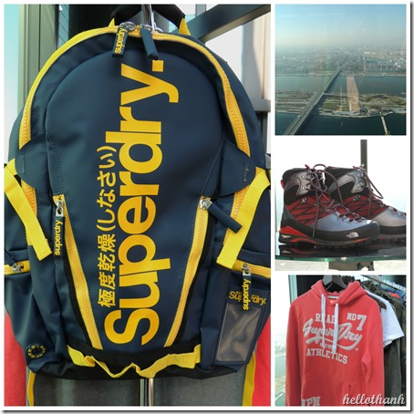 superdry collage