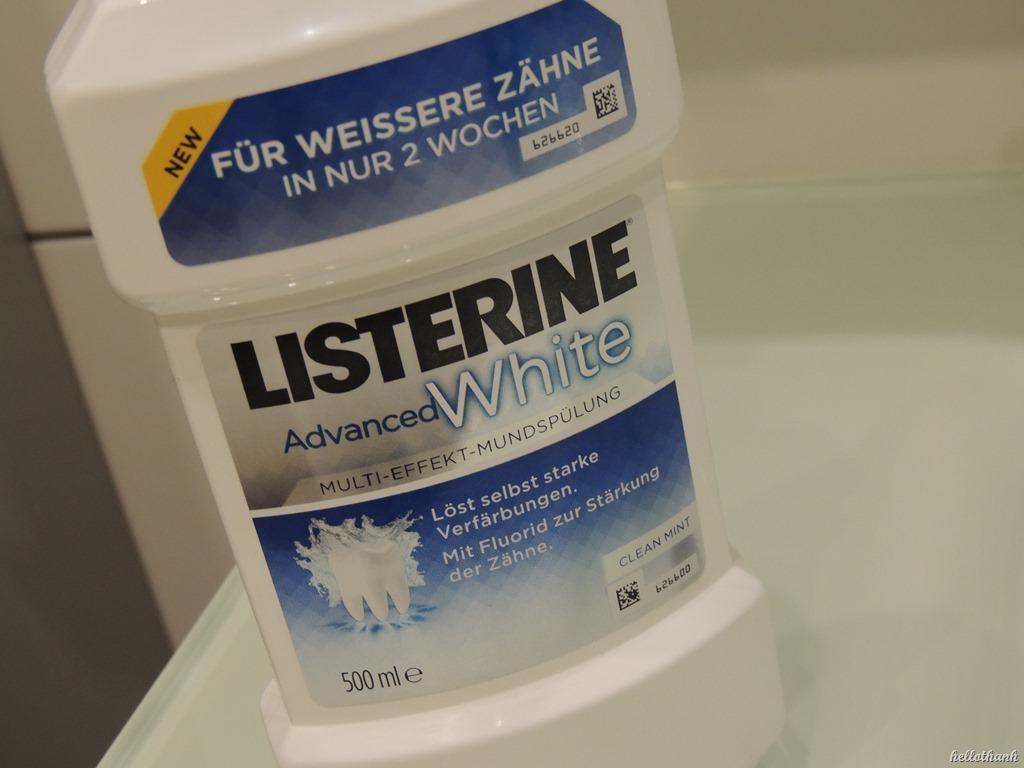 Listerine verfärbt zähne
