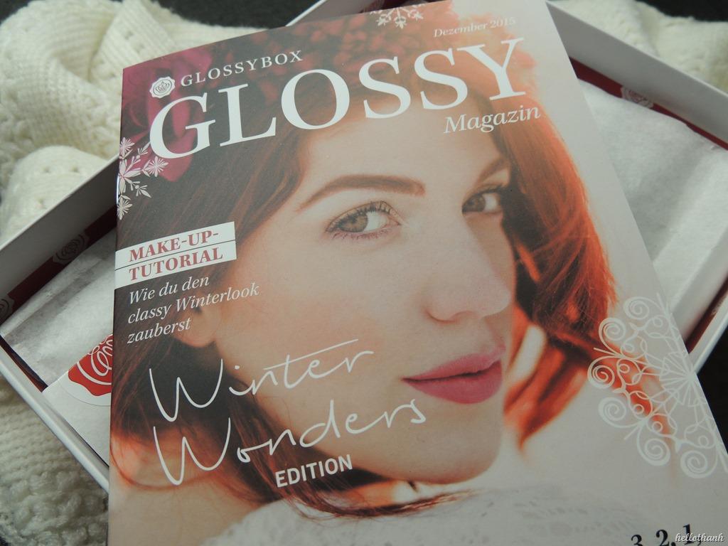 Glossybox Winter Wonders Hellothanh Com